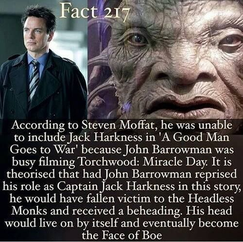 Is this for real??>> yes, in one of the episodes while Martha is the companion he says that his friends used to call him the Face Of Bow, then the Doctor and Martha lost their crap.