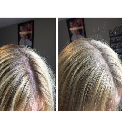 Lindsay L extends the time between her next hair colouring appointment using her gifted John Frieda Root Blur in Platinum to Champagne Blondes (available exclusively at ULTA.com). See this #jfrethinkcolour tutorial and send those unsightly roots into hiding!