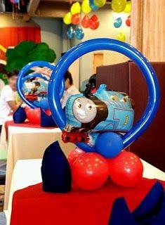Thomas And Friends Children Parties Decoration Centerpieces