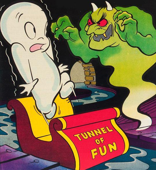 Vintage Halloween • gravesandghouls:  Casper the Friendly Ghost #20...