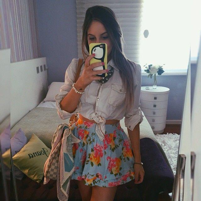 Camisa + saia  jbpaladini