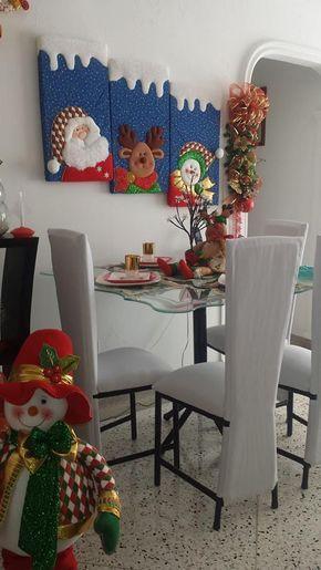 30 ideas fantásticas de #manualidades de fieltro para #Navidad