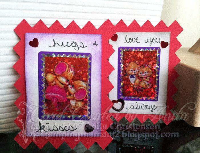 #valentine #hearts #MyScrapChick #red #card