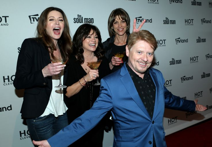 The ladies and Dave Foley