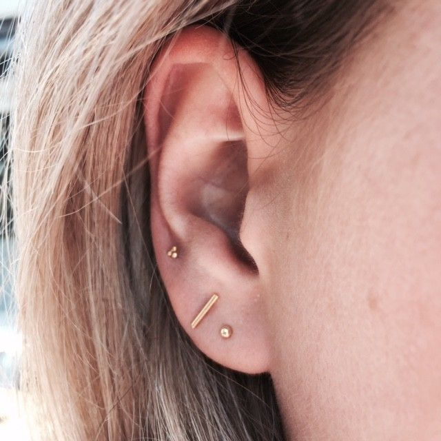 discret earrings   @louisefrrs