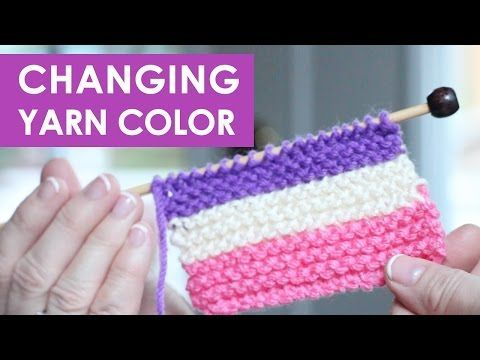 How to Change Yarn Colors While Knitting | Studio Knit
