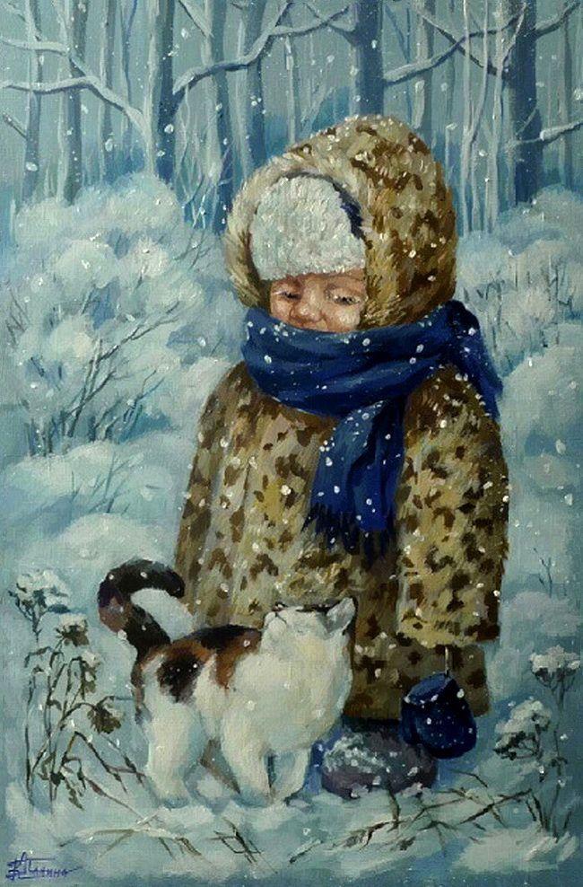 Художник Кира Панина ~ Snowbound!