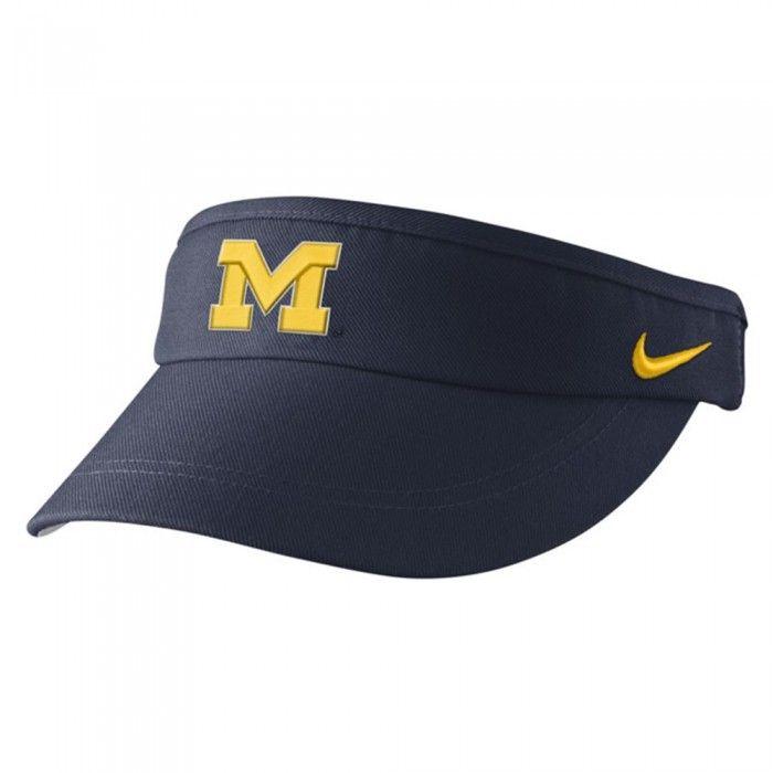 Michigan Wolverines Nike Wool Clic Performance Adjule Hat