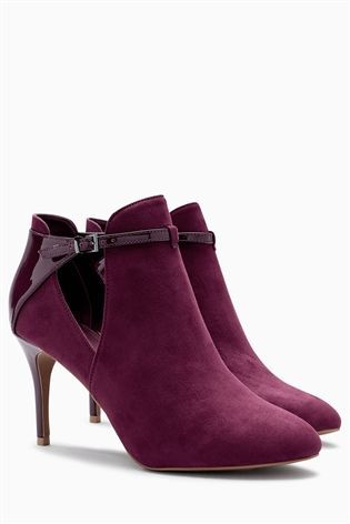 Buy Berry Open Side Shoe Boots from the Next UK online shop