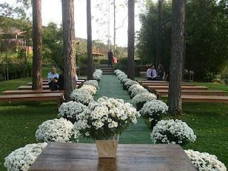 Casamentos ao ar livre | Espaço das Flores