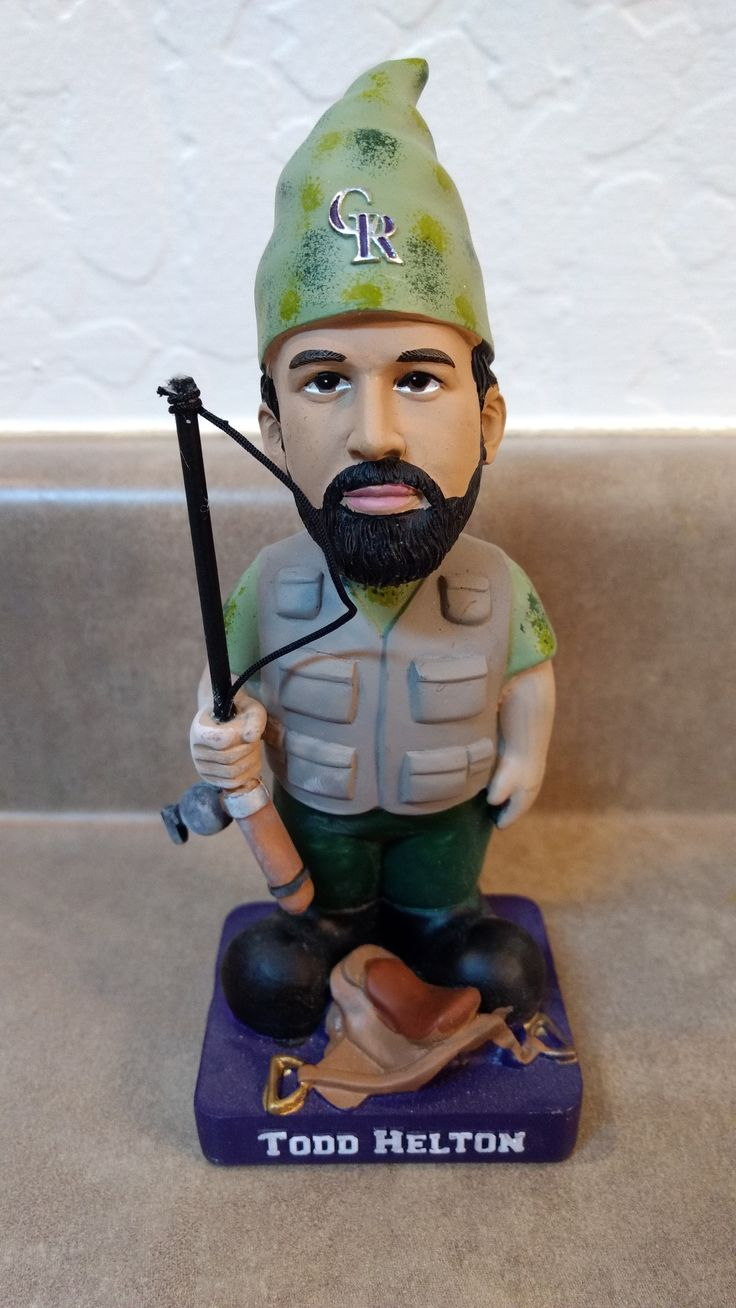 Colorado Rockies Todd Helton Gnome bobblehead