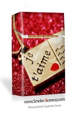 Je t'aime...............a valentine's gift to constantly remind the recipient how you feel (well, every time they light up anyway)!