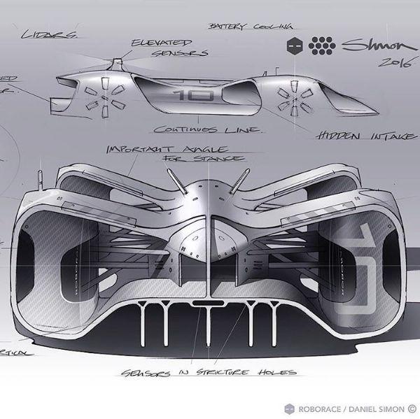 Roborace / Daniel Simon design