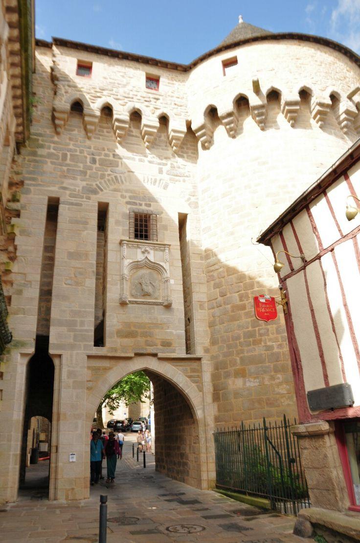 Prison gate, Vannes by G., Bretagne.