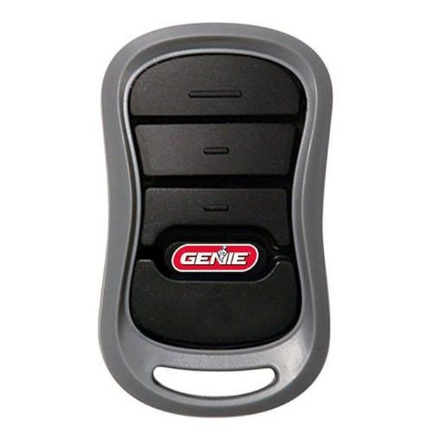 Genie Intellicode 315 390mhz Dual Frequency 3 Button Remote Control Compatible With All Genie Garage Door Opener Remote Garage Door Remote Garage Door Opener