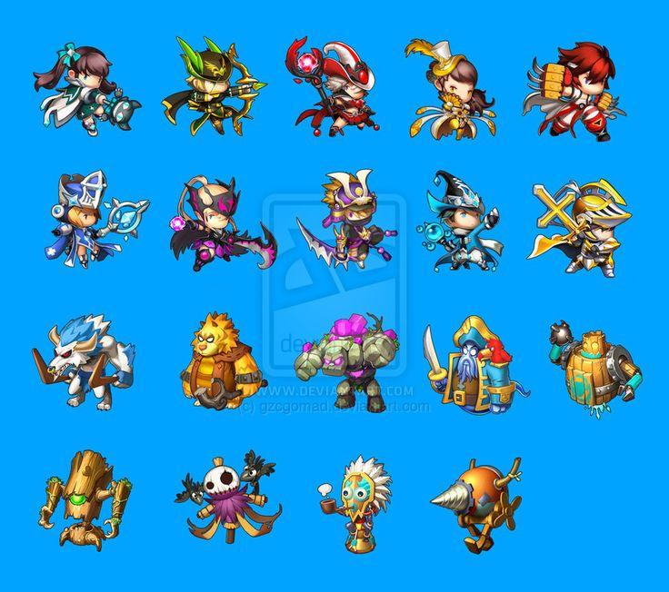 dungeon striker fan art by gzcgomad on DeviantArt
