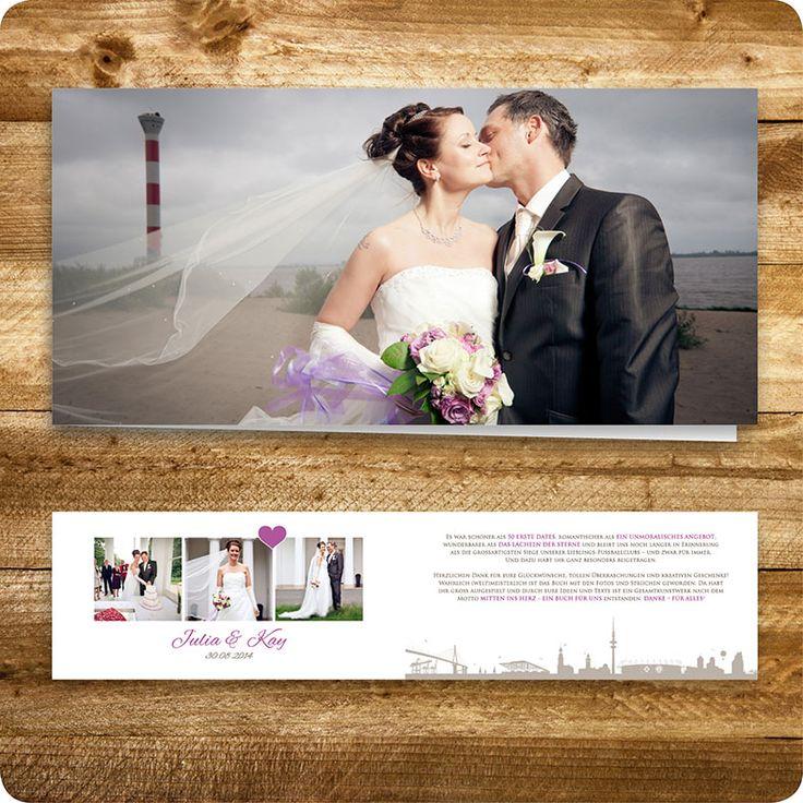 Dankeskarte Maritim, Hamburg, Hochzeit, Individuell Designed By Die  Kartenfrau · Maritim HamburgEinladungskarten Hochzeit