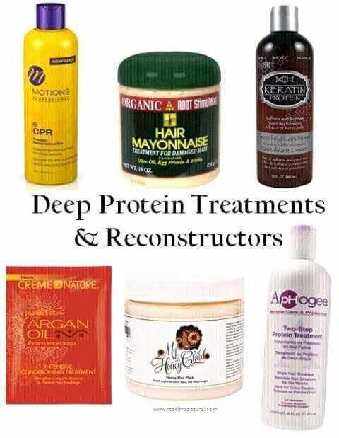 Soins profondeur: Traitements proteine reconstructeur