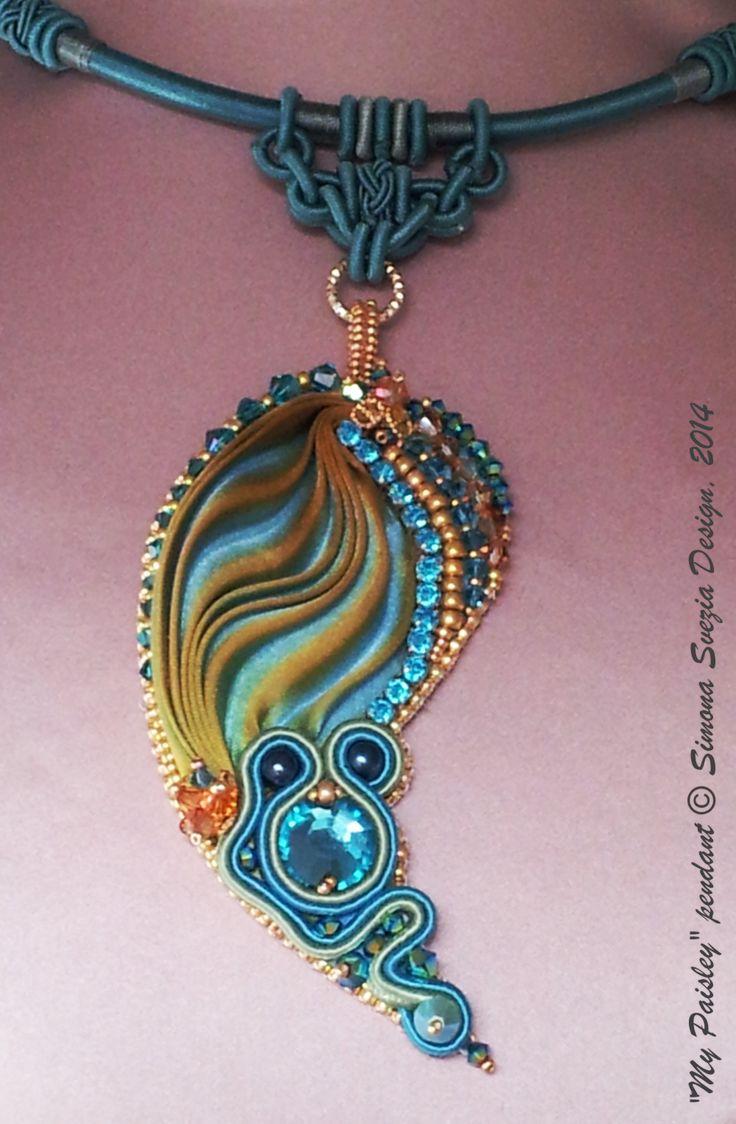 MY PAISLEY pendant https://www.etsy.com/it/shop/PerlineeBijoux http://www.misshobby.com/it/negozi/perline-e-bijoux https://www.facebook.com/pages/Perline-e-Bijoux/222239377917891