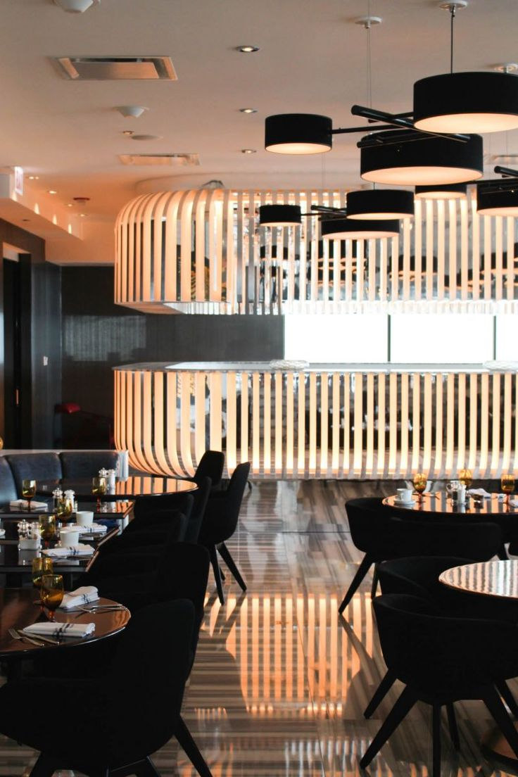 chicago the w hotel lakeshore theeverygirl hotels restaurant design current - Marble Cafe Decoration