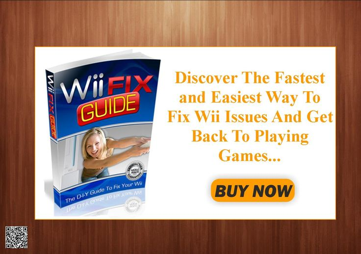 Discover The Fastest and Easiest Way To Fix Wii Issues And Get Back To Playing Games... In As Little As 10 Minutes! http://9c30610boibycmdmm3oe3l1s7c.hop.clickbank.net/?tid=ATKNP1023