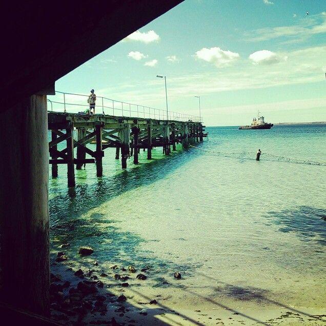 South Australian Jetty Wallaroo #jetty www.charliehelenrobinson.com