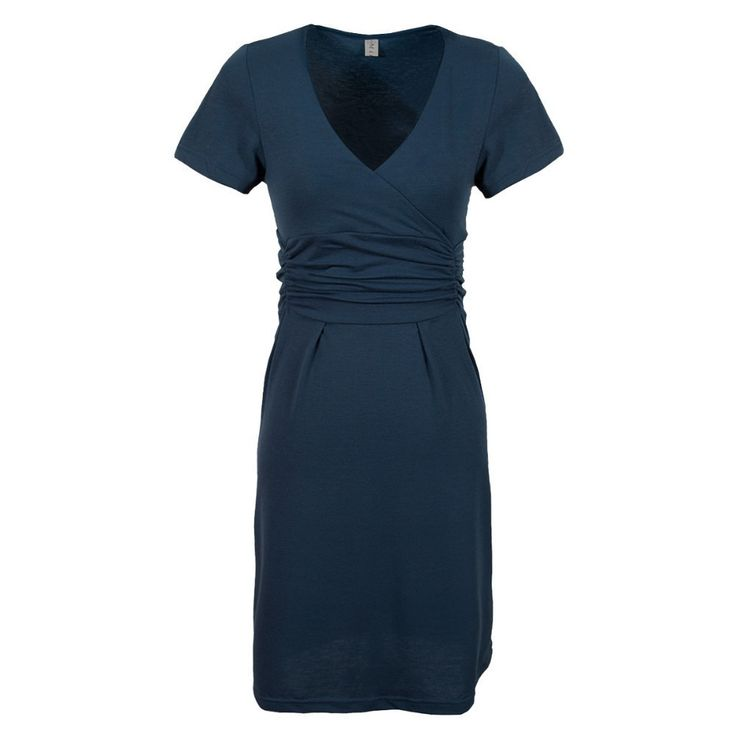 Navy Blue Maternity Dress - Maternity Clothes Canada