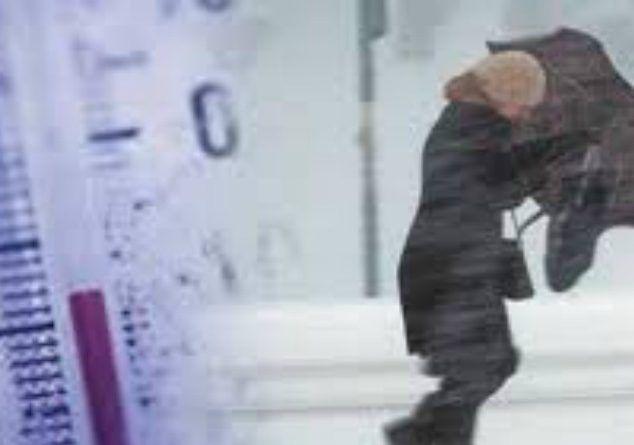 ΡΑΓΔΑΙΑ πτώση της θερμοκρασίας! ΕΚΤΑΚΤΟ δελτίο της ΕΜΥ για καταιγίδες και χιόνια