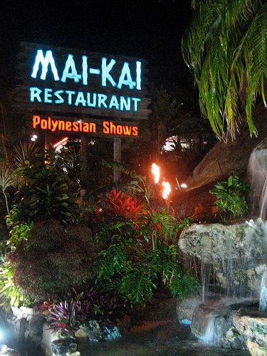 THE MAI KAI....Fort Lauderdale ..an all time favorite spot  for great hors d'oeuvres in the bar.