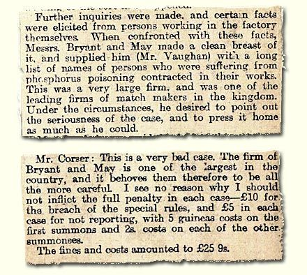HO 45/9849/B12393D; article on a case of 'phossy jaw', 1898