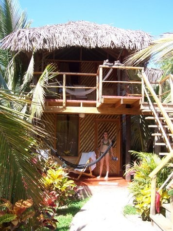 Beachhouse in Mancora (Peru)... is awesome, clean, economic and rustic.
