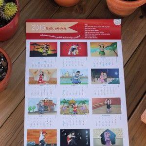 Calendario danza 2016