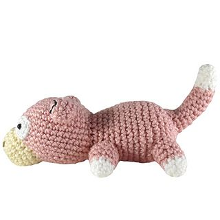 Pokemon: Slowpoke - free crochet pattern by i crochet things. More of her Pokemon and other designs here:  http://www.ravelry.com/patterns/search#designer=i+crochet+things&sort=date&view=thumbs