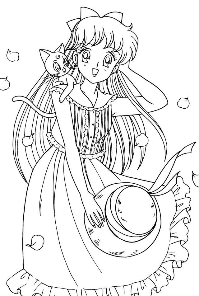 pin von akila auf sailor moon  ausmalbilder malvorlagen