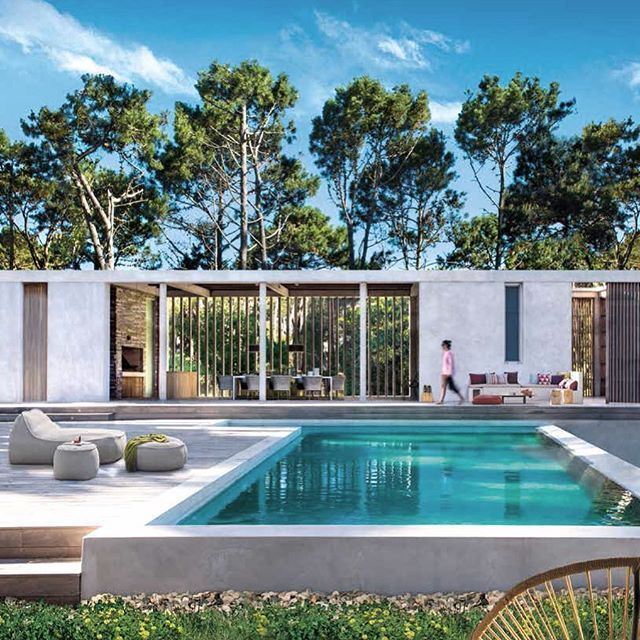 Gorgeous Photos To Inspire Your Swimming Pool And Backyard Decorating Ideas Swimmingpools House With Porch Modern Pools Porch Design