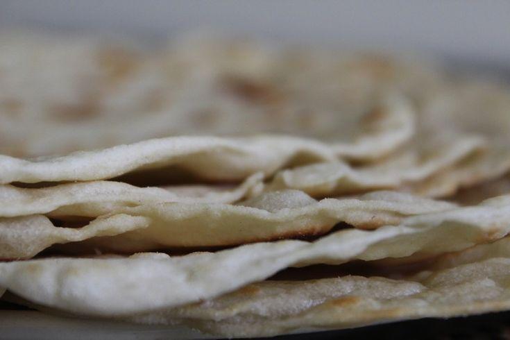 Maak je eigen tortilla wraps