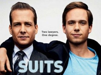 Harvey Specter x Mike Ross  Harvey Specter doesn't get cotton mouth