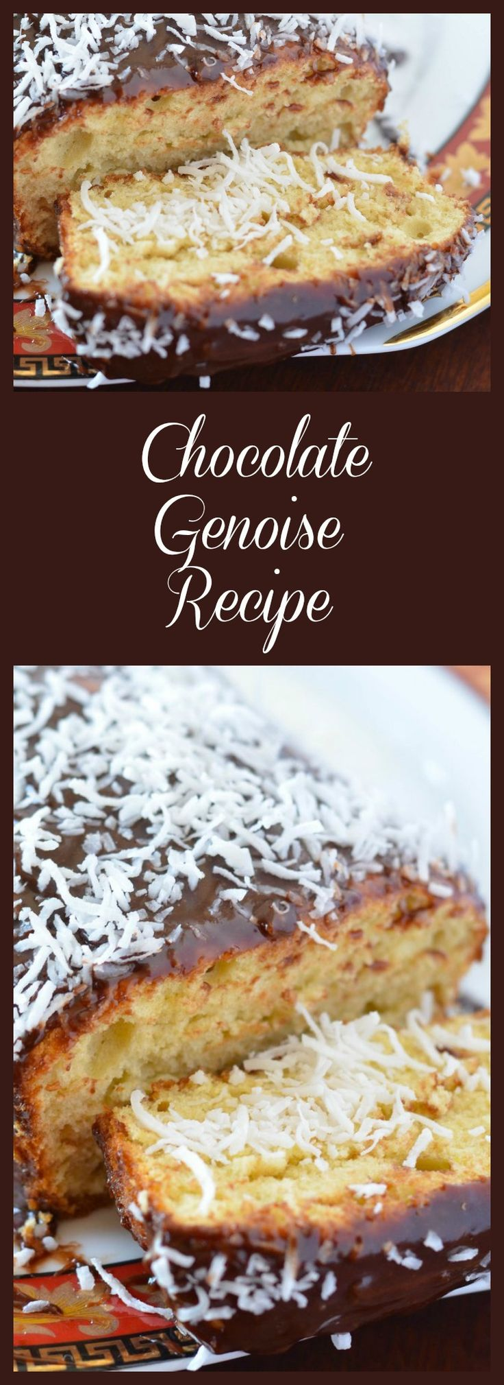 Have you ever made a chocolate genoise recipe before? If not, you're in for a treat with this chocolate cake made without butter!