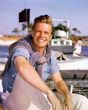 George Peppard Color 11x14 Photo Handsome 1950's Pose | eBay