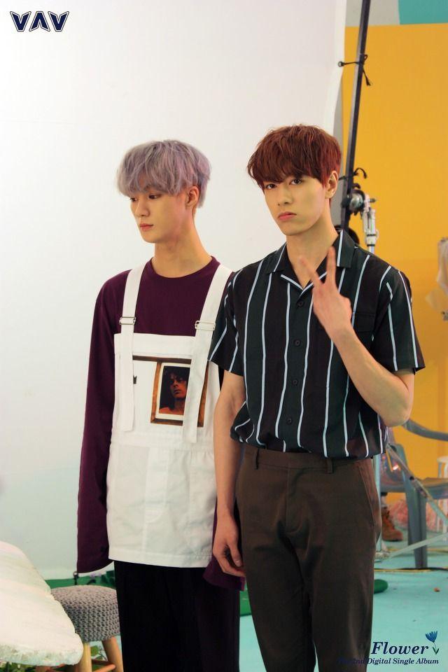 Jacob & Ayno   [Behind the cut] VAV - MV 'Flower' cr. VAV official Fancafe