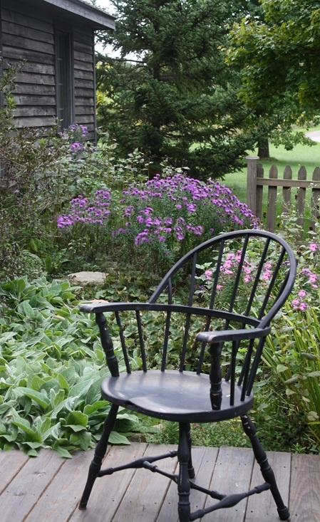 Windsor chair...