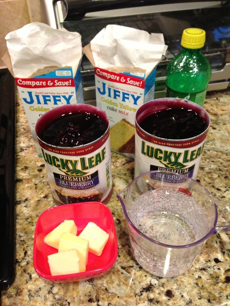Easy Cobbler Recipes Using Jiffy Cake Mix