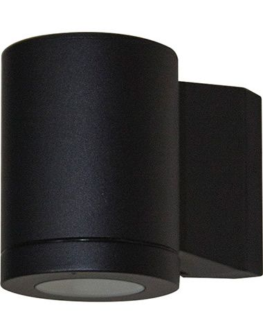 Metro Single Wall Light - Black, Exterior Lights, Tubular Wall Lights, New Zealand's Leading Online Lighting Store