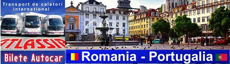 Bilete de Autocar Romania Portugalia, Rezervari Autocar Portugalia