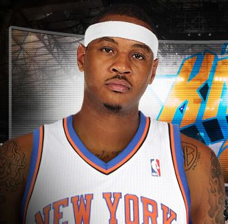 """CARMELO KYAM ANTHONY, nicknamed """"Melo"""", is an American professional basketball player who currently plays for the New York Knicks in the National Basketball Association. Wikipedia              Born: May 29, 1984 (age 28), Red Hook    Spouse: Alani Vasquez (m. 2010)    Salary: 18.52 million USD (2012)    Siblings: Robert Anthony, Michelle Anthony, Wilford Anthony, Daphne Anthony    Education: Towson Catholic, Syracuse University, Oak Hill Academy    Parents: Mary Anthony, Carmelo Iriarte"""