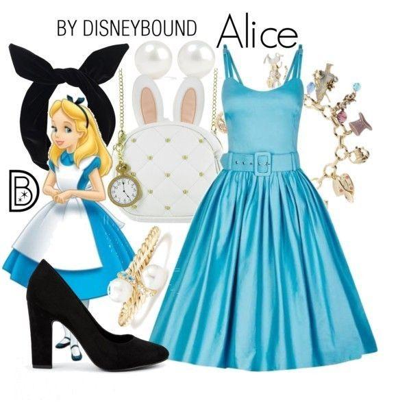 Alice Alice In Wonderland Look Roupas De Personagens Looks