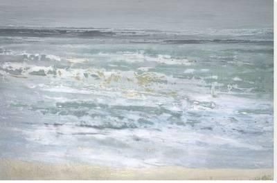 Spindrift Stretched Canvas Print by Caroline Gold at Art.com