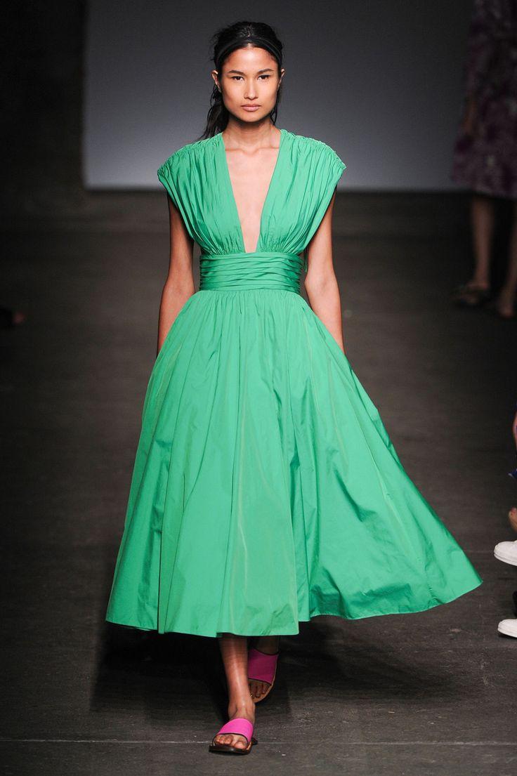 Défilé Tracy Reese, prêt-à-porter printemps-été 2015, New York. #NYFW #Fashionweek #runway