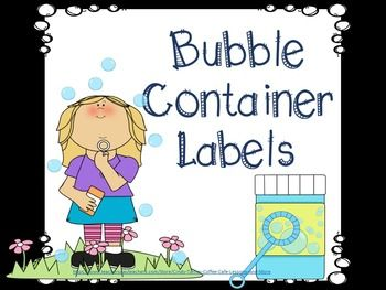 Have bubble projects that you are working on? Need to label the different types of bubbles your students are creating? Here is just the thing! Need bubble projects? Click on my name to follow me and receive email notifications of upcoming sales, freebies and products hot off the presses and check out my STEAM projects, emergent readers and ELA materials.Leave a little feedback and earn tpt credits you can spend on your next purchase.**********************Inventory…