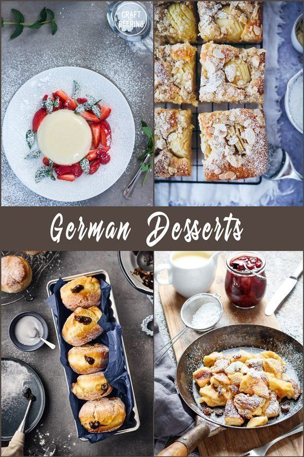 German Desserts (Round-Up of the Most Popular Authentic Recipes )